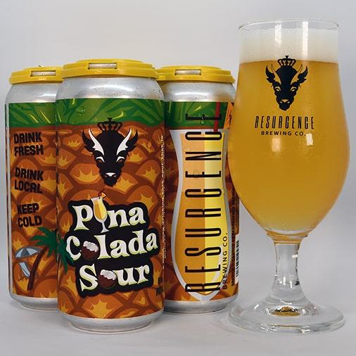 Pina Colada Sour - Resurgence Brewing Co - Buffalocal