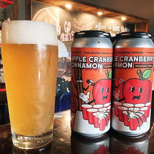 Apple Cranberry Cinnamon - Steelbound Brewing Co - Buffalocal
