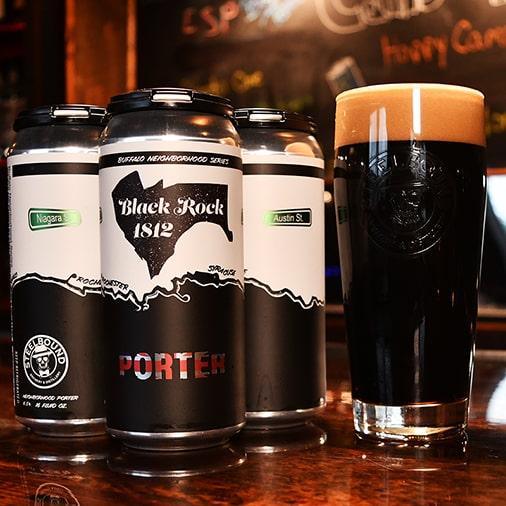 Black Rock 1812 Porter - Steelbound Brewery - Buffalocal