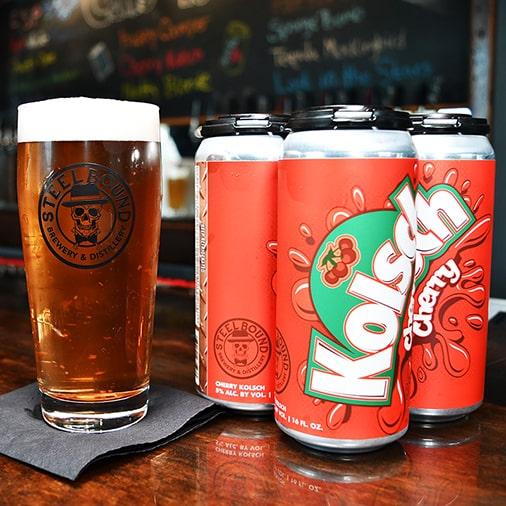 Cherry Kolsch - Steelbound Brewery - Buffalocal