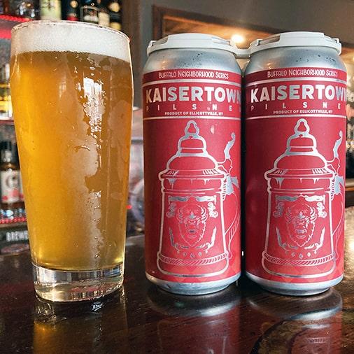 Kaisertown Pilsner - Steelbound Brewing Co - Buffalocal