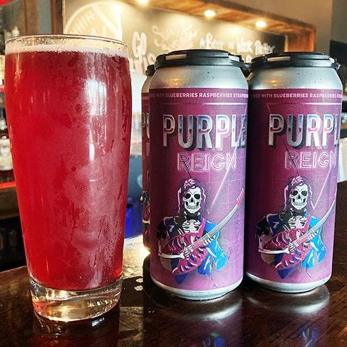 Purple Reign Sour - Steelbound Brewing Co - Buffalocal