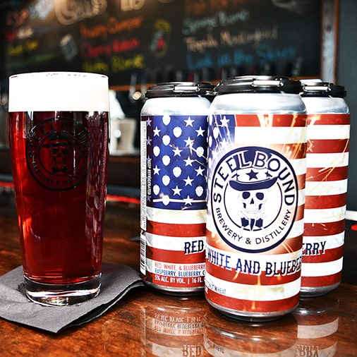 Red White and Blueberry - Steelbound Brewery - Buffalocal