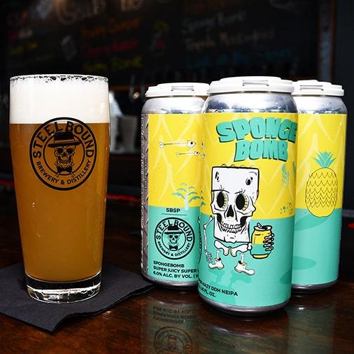 Sponge Bomb New England IPA - Steelbound Brewery - Buffalocal