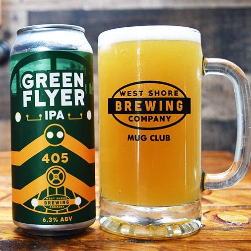 Green Flyer IPA - West Shore Brewing - Buffalocal