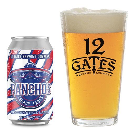 Pancho's Legacy Lager - 12 Gates - Buffalocal