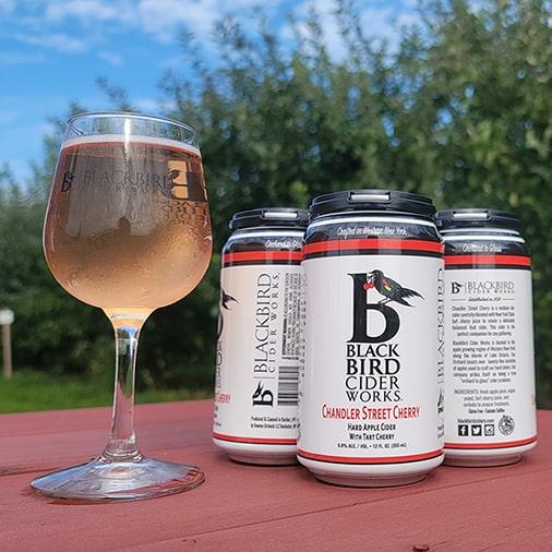 Chandler Street Cherry - BlackBird Cider Works - Buffalocal
