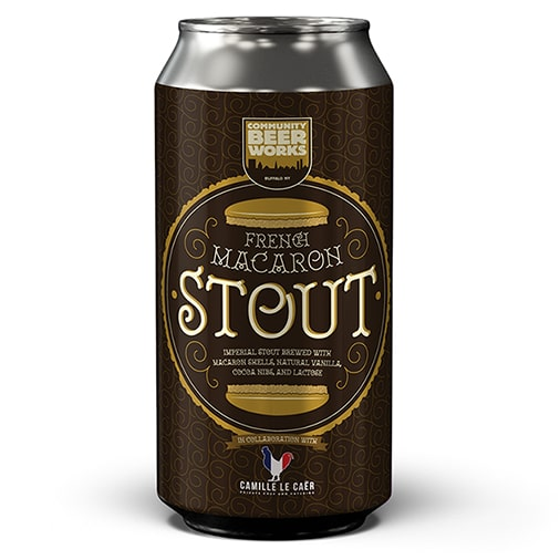 French Macaron Stout - Community Beer Works - Buffalocal