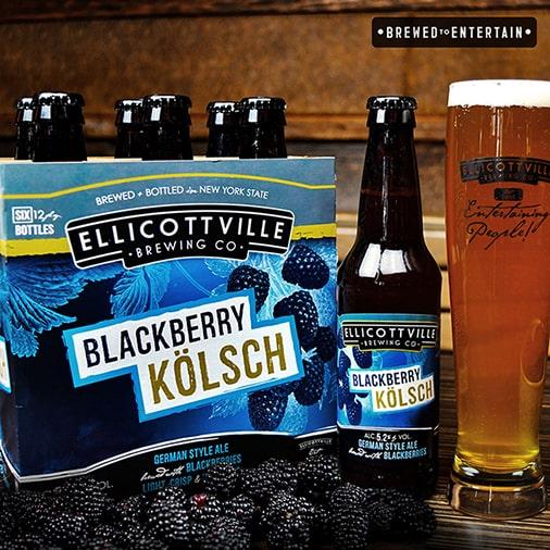 Blackberry Kölsch - Ellicottville Brewing Co - Buffalocal