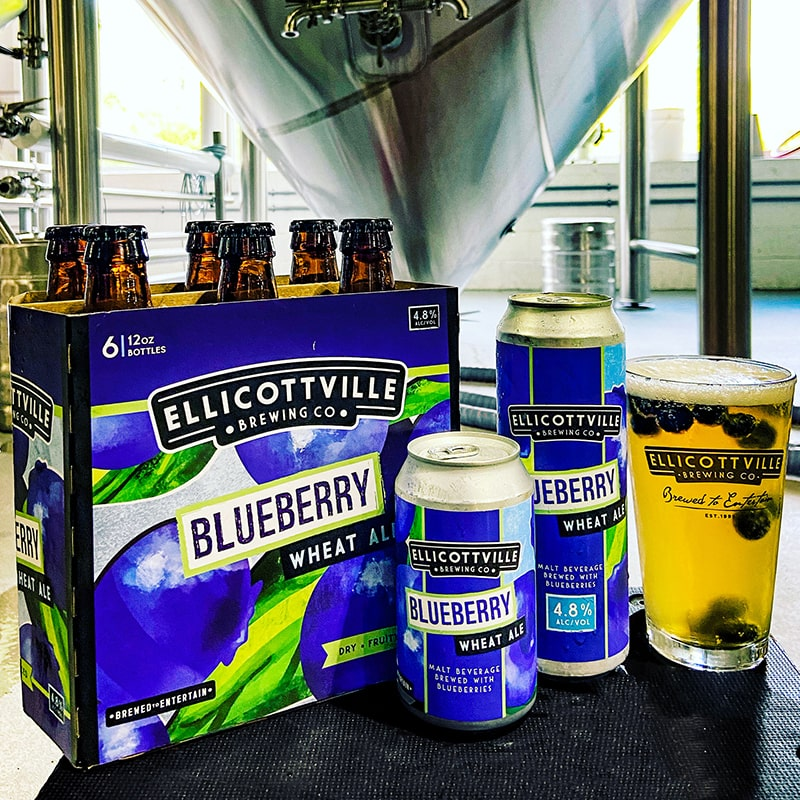 Blueberry Wheat - Ellicottville Brewing Co - Buffalocal