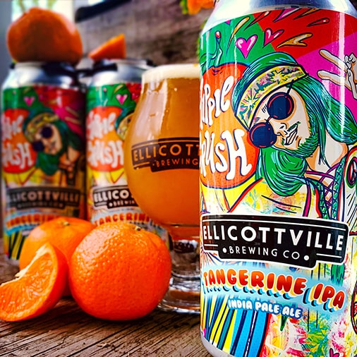 Hippie Crush - Ellicottville Brewing Co - Buffalocal