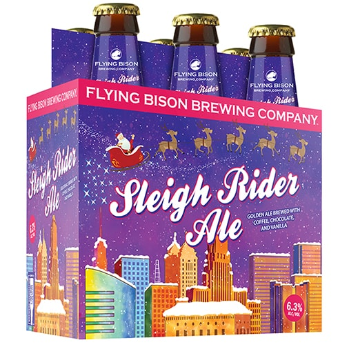 Sleigh Rider - Flying Bison Brewing Co - Buffalocal