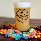 Buffalocal beer and candy