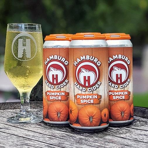 Pumpkin Spice Hard Cider - Hamburg Brewing Co - Buffalocal
